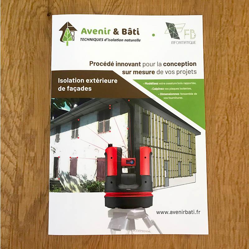 Plaquette Avenir & Bâti - Numérisation extérieure pour isolation maison